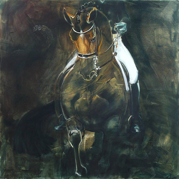 Rosemary Parcell nz fine art horse paintings